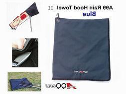 A99 Golf Rain Hood Towel Waterproof Golf Bag Cover Blue 17 3