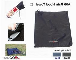 "A99 Golf Rain Hood Towel Waterproof Golf Bag Cover 17 3/4"" x"