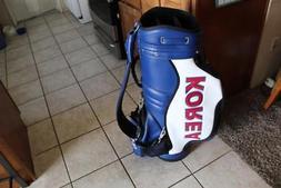 RARE Adidas Tour Staff Golf Bag Korea Emblem & Logo Store Di