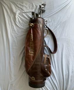Rare Vintage Honeycomb 15 Way Divider Wilson Golf Bag Good C
