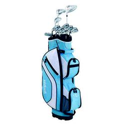 Tour Edge Women's Reaction 3 Box Set, Blue