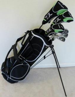 NEW Mens RH Golf Complete Set Clubs Driver Wood Hybrid Irons