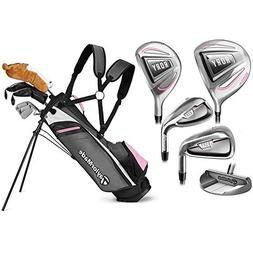 TaylorMade Girls Rory Junior Full Set Ages 4+ RH 5 Clubs + 1