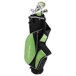 Young Gun ZAAP ACE Green Junior Golf Club Youth Set & Bag fo