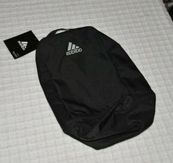 adidas shoe bag for your golf shoes, black with White logo a