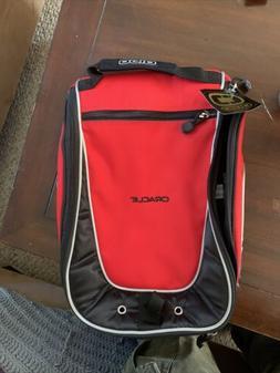 OGIO Shoester Golf Shoe Bag Red Black Accessory Pocket w/ di