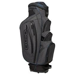 OGIO Shredder Cart Bag, Ash/Blue