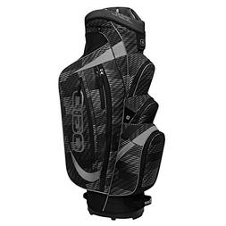 OGIO Shredder Cart Bag, Buzz Saw Black