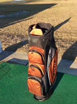 Ogio Shredder Cart Golf Bag In Rust Crosswalk
