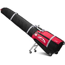 Sun Mountain SkiGlider Travel Bag 2017 Black/Red