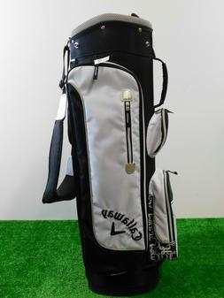 Callaway Solaire Golf Womens Cart Bag 6-Way W Rain Hood Whit