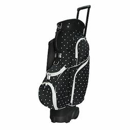 "RJ Golf Spinner RX 9.5"" Transport Cart Bag - Polk A Dot Golf"