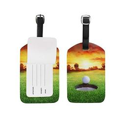 sport golf ball luggage tag for baggage