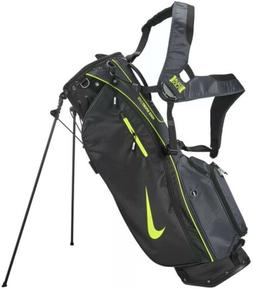 Nike Sport Lite Stand Bag Golf Black Anthracite Volt Brand N