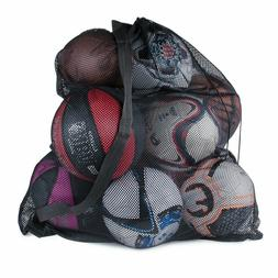 Sports Ball Bag Drawstring Mesh - Extra Large Professional E