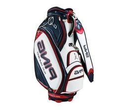 Ping Sporty GX Men's Golf Caddie Bag Cart 7 Way PU PVC White