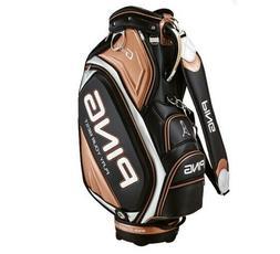 Ping Sporty GX Men's Golf Caddie Bag Black 7 Way PU PVC Spor