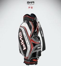 PING Sporty VC Men's Tour Golf Cart Caddi Bag 9In 9.3lb PVC