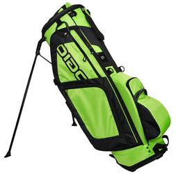 OGIO SPYKE STAND GOLF BAG MOSS GREEN / BLACK 8-WAY TOP DOUBL