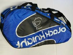 Black Knight Squash Racquet Bag NEW NWT