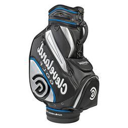 Cleveland Staff Golf Bag Black Silver Blue