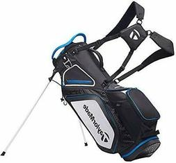 TaylorMade Stand 8.0 Golf Carry Bag 2020 - Black/White/Blue