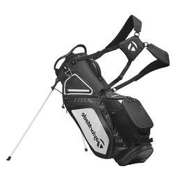 TaylorMade Stand 8.0 Golf Carry Bag 2020 - Black/White/Charc