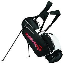 Standing Golf Bag 5 Way Divider Top 6 Pockets Balls Tee Umbr