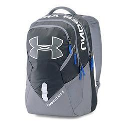 Under Armour Storm Big Logo IV Backpack, Stealth Gray /Royal