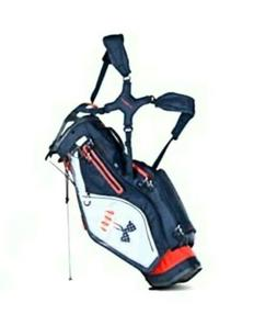storm match play stand bag usa red