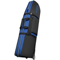 OGIO STRAIGHT JACKET GOLF TRAVEL BAG COVER w/ WHEELS BLUE JU