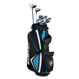 STRATA Men's Golf Packaged Sets Complete Set 12 Pcs Bag and