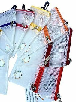 THE GOLF POUCH. Strong clear golf accessories bag. Great for