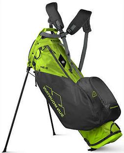 Sun Mountain 2.5+ Golf Stand Bag Rush Green Black Carry Bag