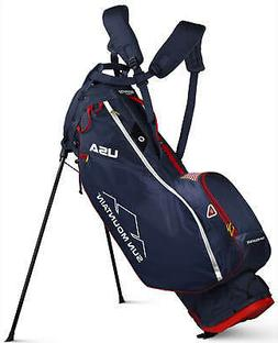 Sun Mountain 2.5+ Golf Stand Bag Navy/White/Red Carry Bag 20