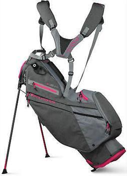 Sun Mountain Women's 4.5 LS Golf Stand Bag Carbon/Cadet/Pink