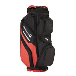 TaylorMade Supreme Cart Bag- Black/Red   Golf Show Display B