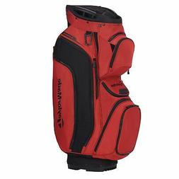 TaylorMade Supreme Cart Golf Bag 2020  - Blood Orange/Black