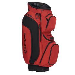 TaylorMade Supreme Cart Golf Bag Blood Orange/Black - New 20