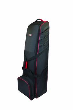 Bag Boy T-700 Golf Bag Travel Cover, Black/Red