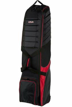 Bag Boy T-750 Golf Travel Cover Outdoor Sport - Black/Red/Ch