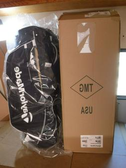 TaylorMade Golf 2017 TM Stand Golf Bag 5.0 Black/White New
