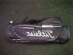 TITLEIST PLAYERS 4 PLUS GOLF CARRY STAND BAG NEW TB9SX1 BLAC