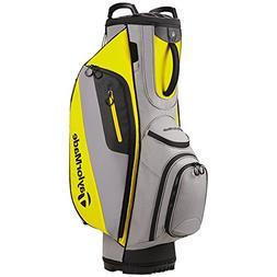 New TaylorMade TM Cart Lite Golf Bag Gray/Yellow 2017