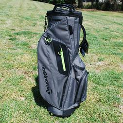 New TaylorMade TM Cart Lite Golf Bag Gray/Green 2017