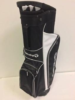 TaylorMade TM17 Cart Bag- 5.0 - Black/White