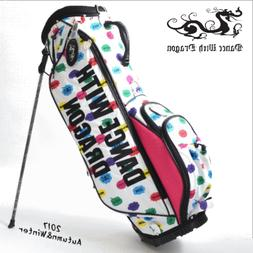 Tomorrow Dance With Dragon Caddy Bag Stand-Up Stand Flashy S