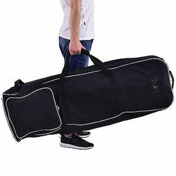 Travel Sports Foldable Golf Bag Club Cover W/Wheel Outdoor W