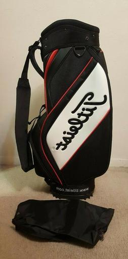 Titleist Trial Set Golf Bag Mini Staff Black Red White