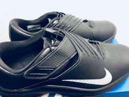 Nike TW 17 Tiger Woods Golf Shoes Spikes Black Metallic Silv